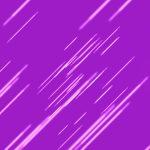 Purple Pink Lens Flare Rain