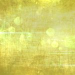 Yellow Green Batique Pattern with Lens Flares